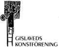 Logo Gislaveds Konstförening